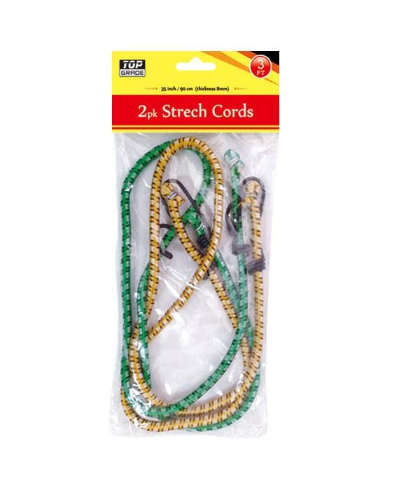 3ft/2pc strech cord 48s