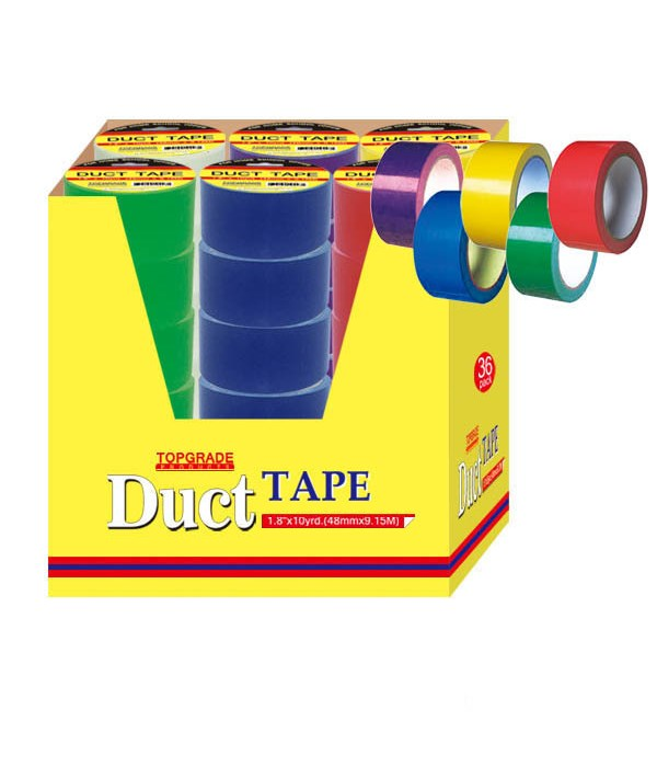 """duct tape 1.8""""x10yd 36/72s"""