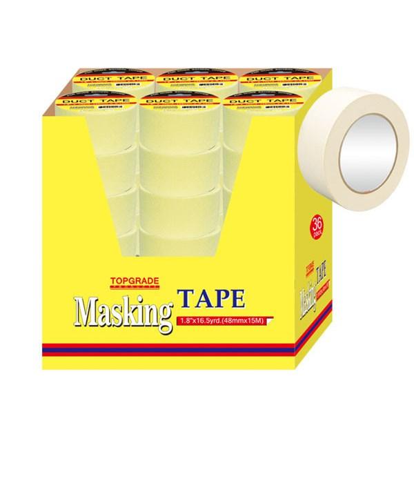 masking tape 1.8x16.5yd 36/72