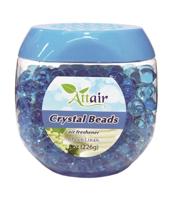 8oz bead clean linen 24s