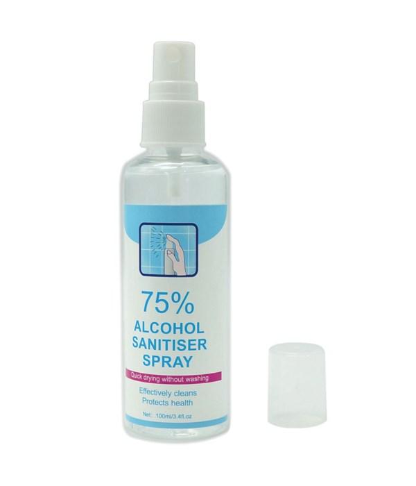 75% alcohol spray 24/96s