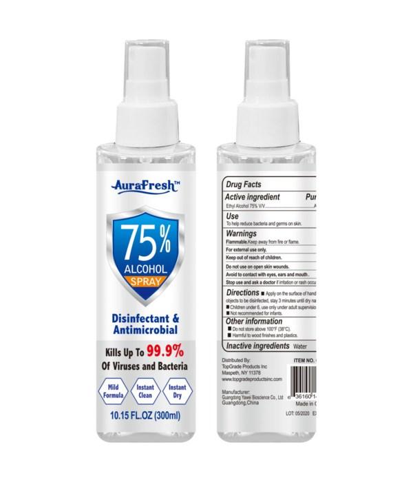 75% alcohol spray 24s