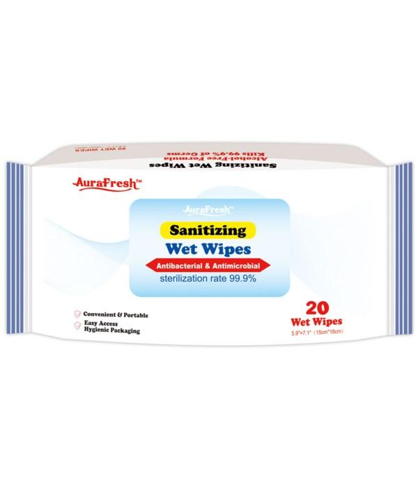 20ct disinfectant wipes 72s