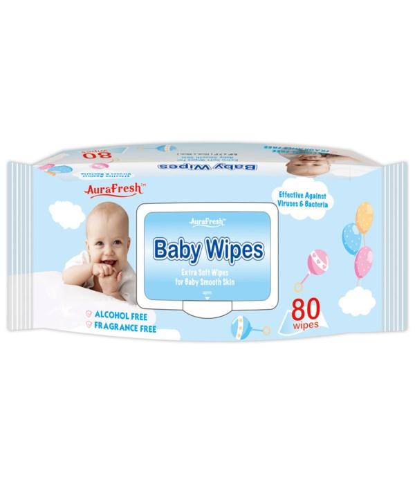 80ct baby wipes 24s