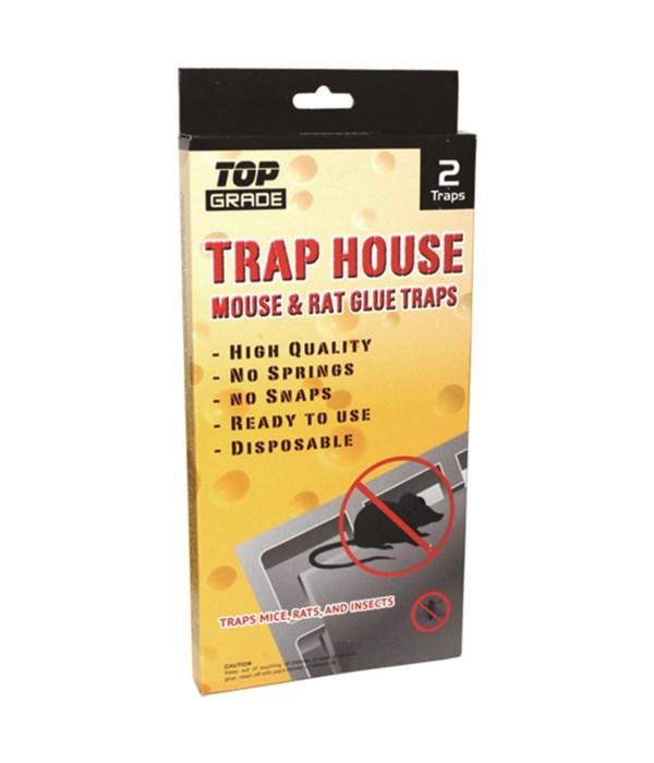 2pk jumbo mouse glue trap 48s