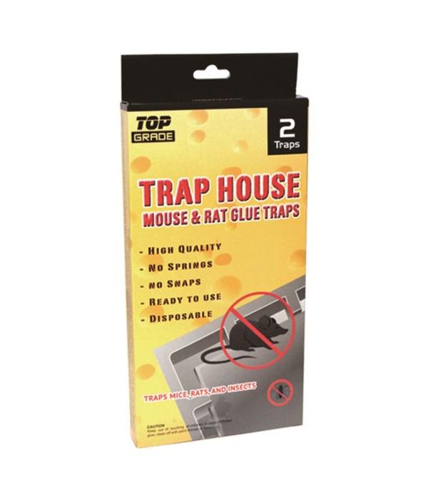 2pk mouse glue trap 8.5x4.5/48