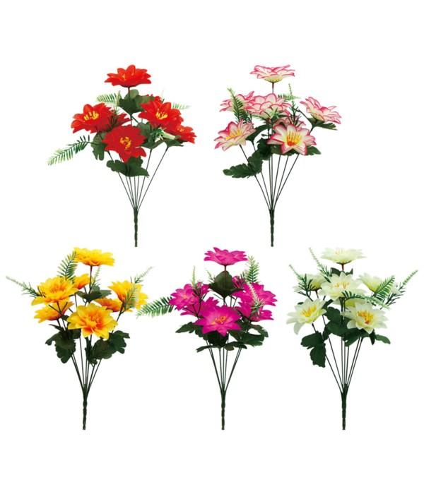 """16""""/7-head flower astd 72s"""