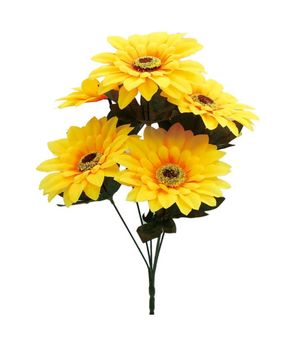 "16""/6-heads sunflower 72s"