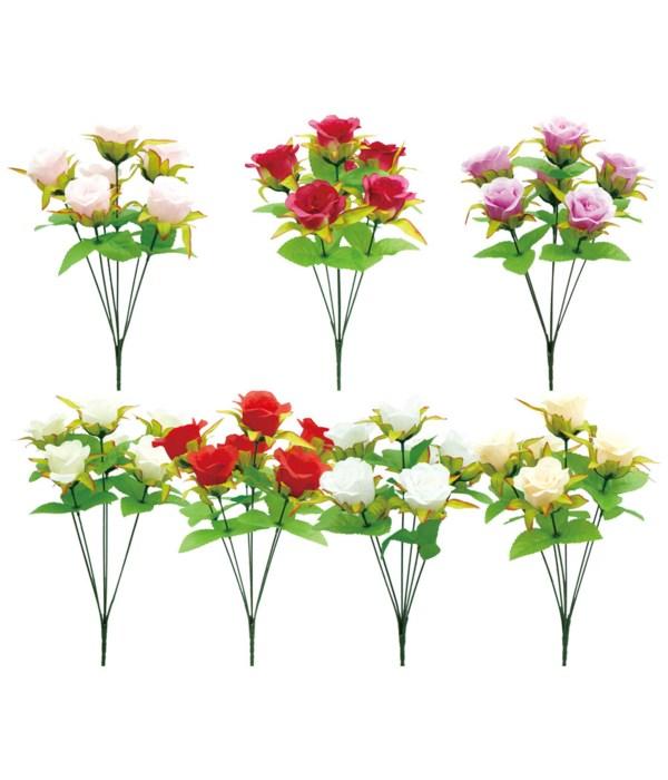 6-head flower astd clr 72s