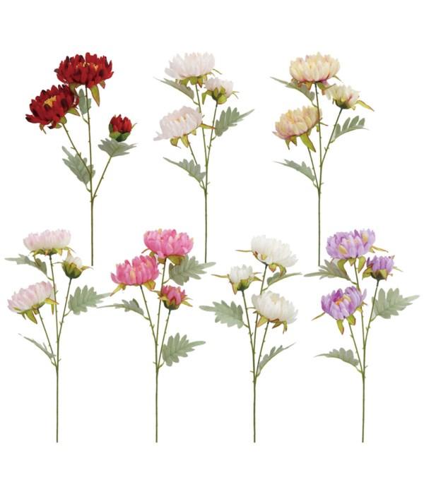 3-head flower astd clr 72s