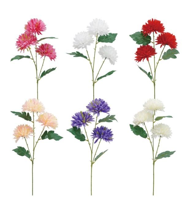 3-heads flower astd clr 72s