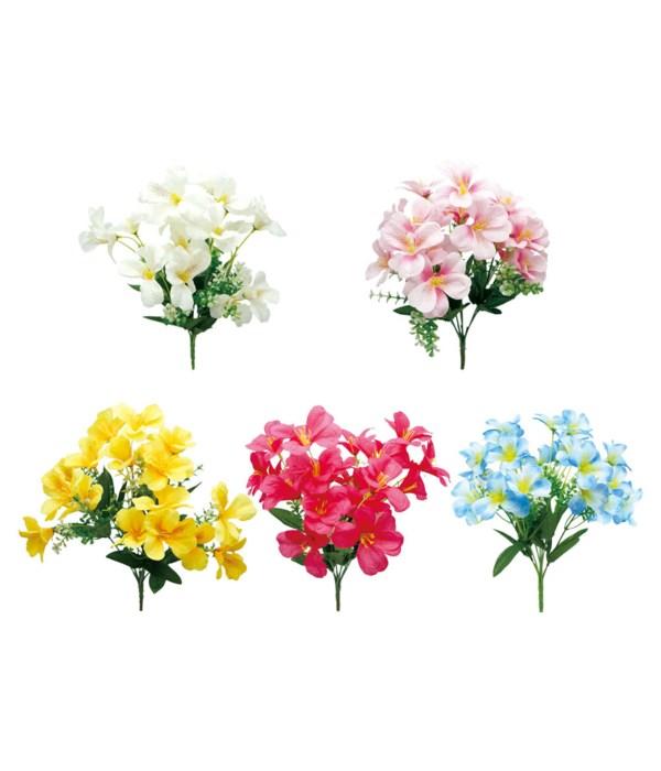 "13"" 7-heads flower astd 72s"