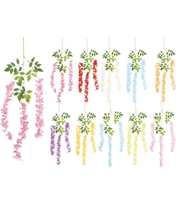 """44"""" flower vine 120/360s"""