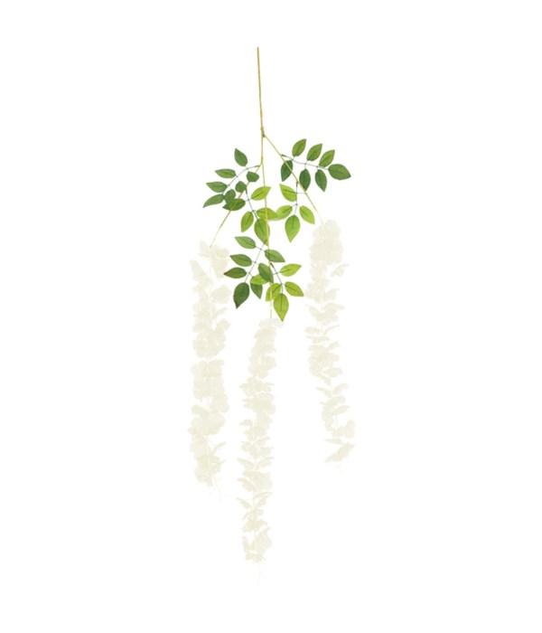 """44"""" flower vine white 120/360s"""