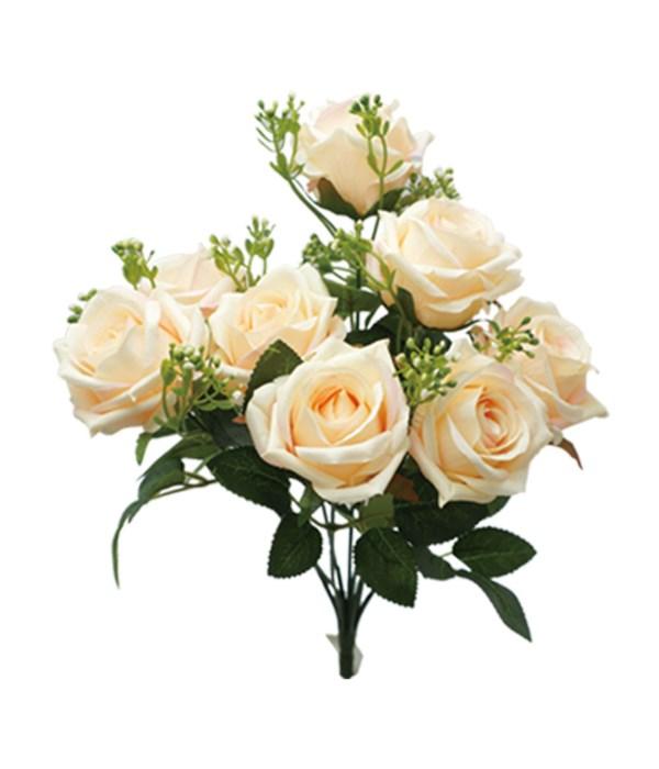"""16"""" 9-roses peach 24/96s"""