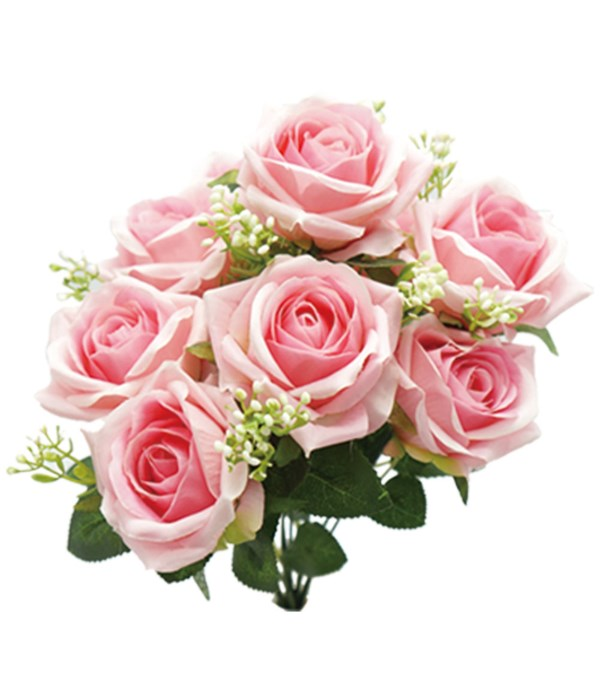 """16"""" 9-roses pink 24/96s"""
