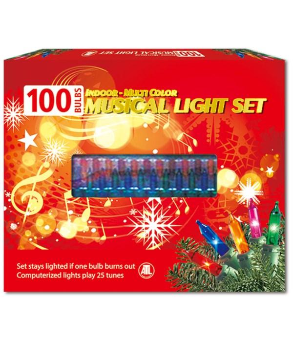 100L musical light UL 24s