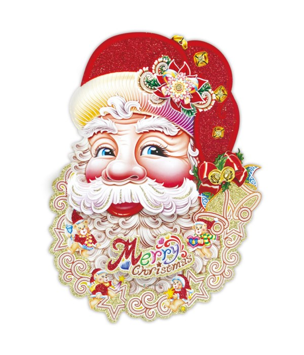 """28""""santa 3D cutout 12/144s"""