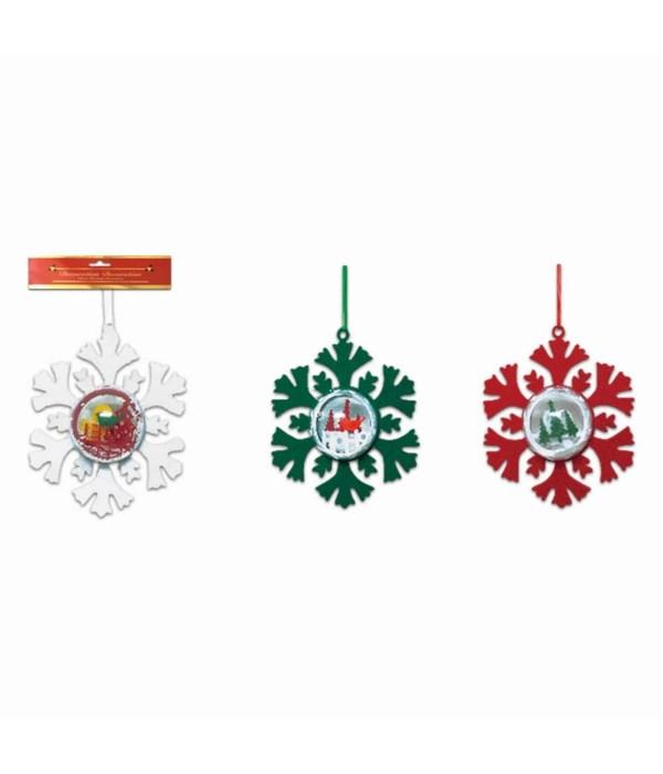 x'mas ornament snowflake 48s