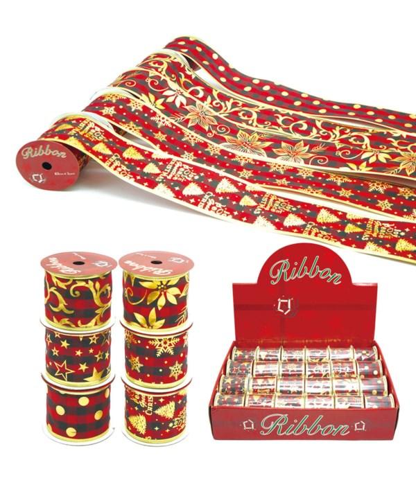 x'mas gift ribbon 24/144s
