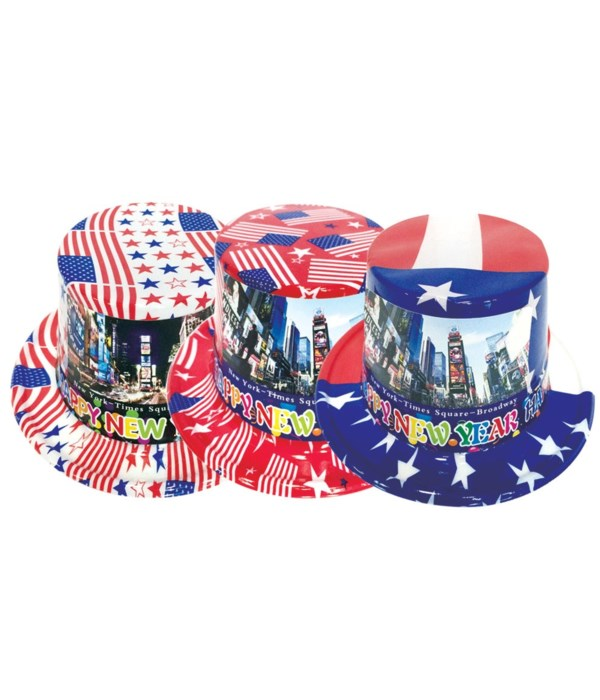 new year american hat 72s
