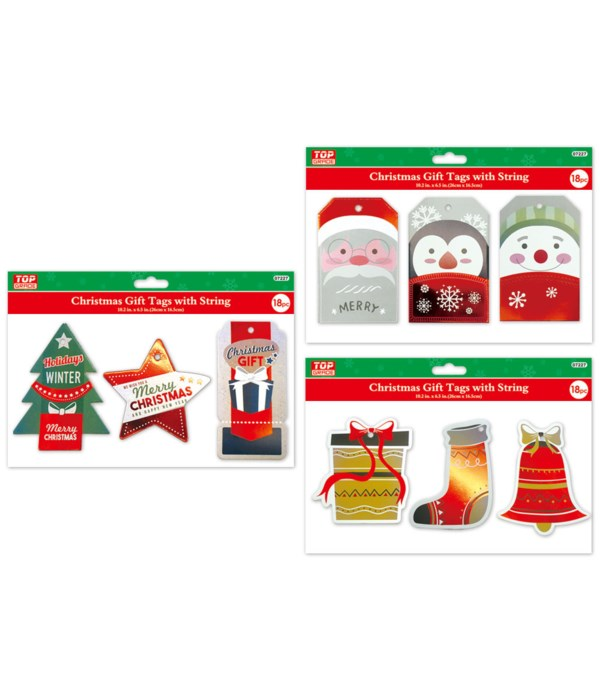 18ct gift tags HS 12/576s