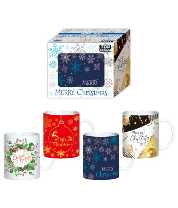 x'mas mug in box 12oz/48s