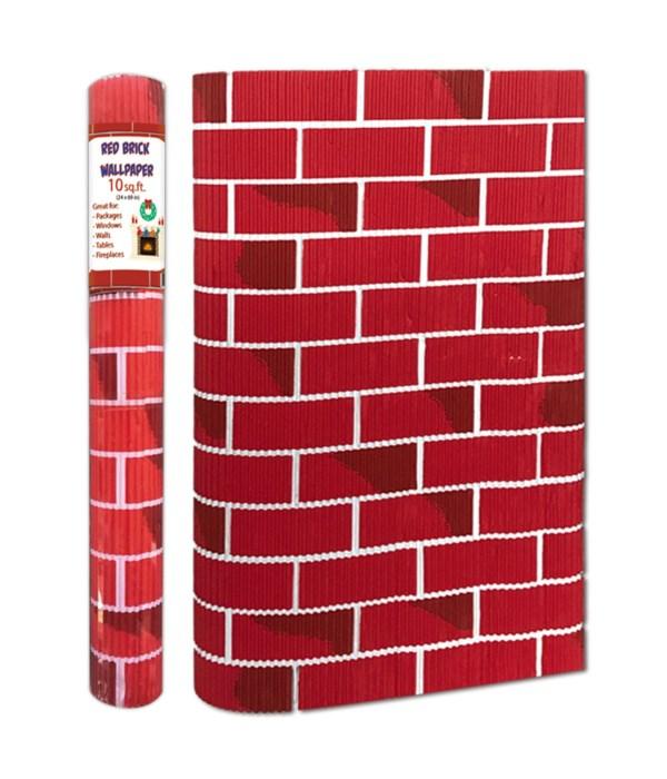 """brick wall paper 24x60""""/48s"""