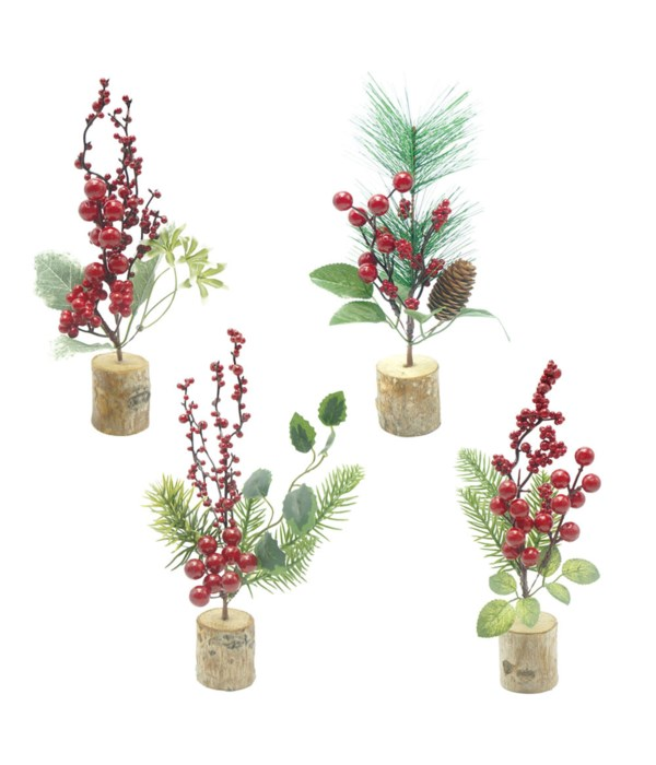"""10"""" potted berries 48/144s"""