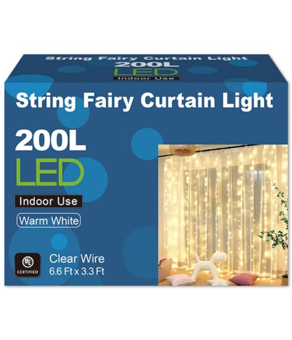 string fairy curtain light 8s