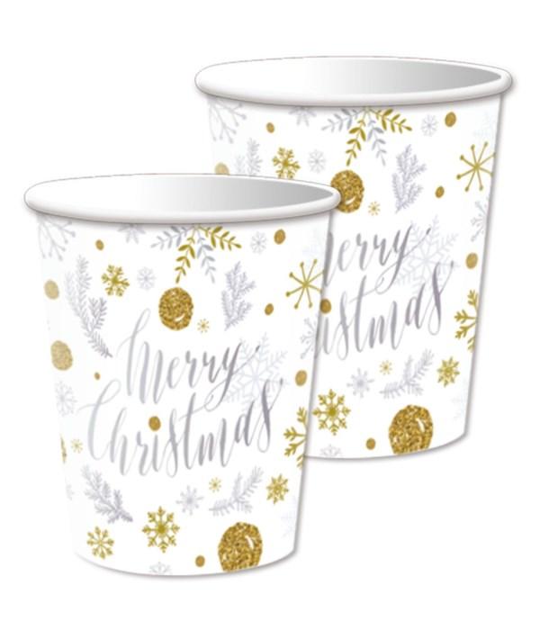 9oz/10ct xmas paper cup 24/144