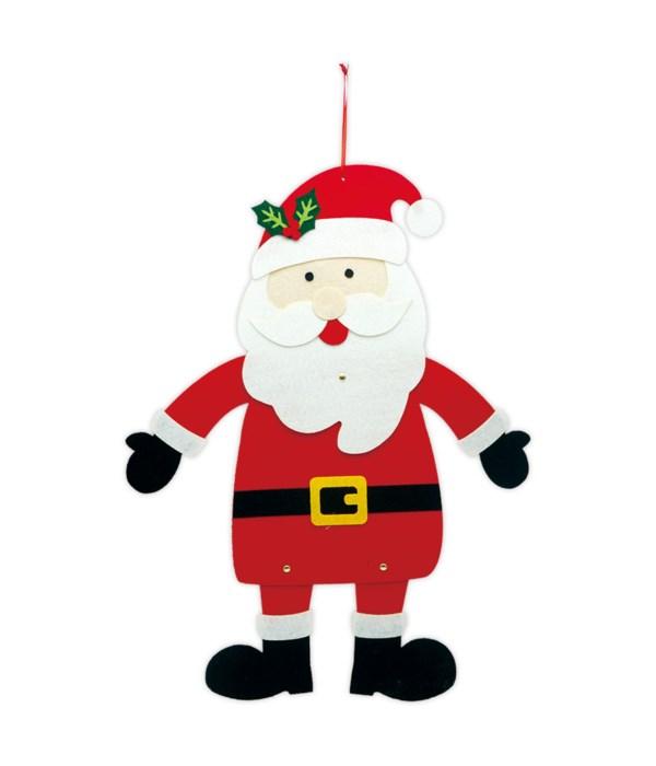 "hanging santa 14x10"" 12/48s"