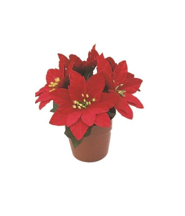 X'mas flower pot 24/144s