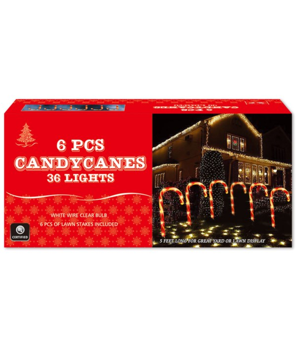 """12""""/6ct 36L candy can set 20s"""