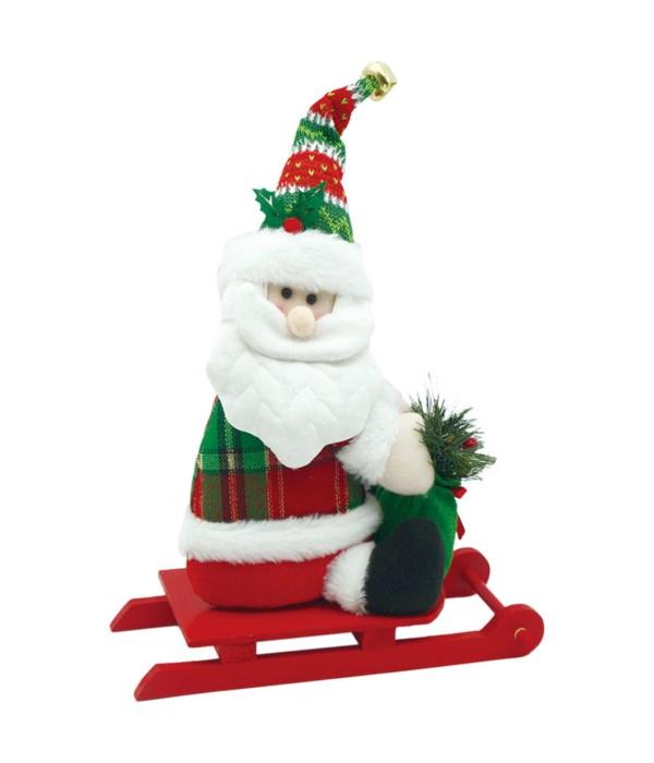 """11"""" Skating Santa 6/24s"""