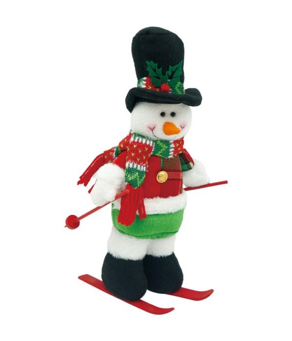 "12"" Snowman 6/60s"