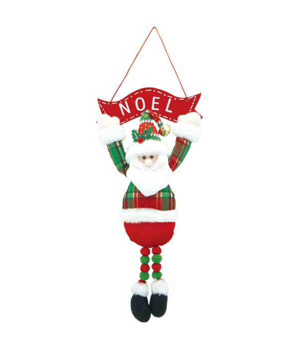 "16"" Hanging Santa 6/96s"