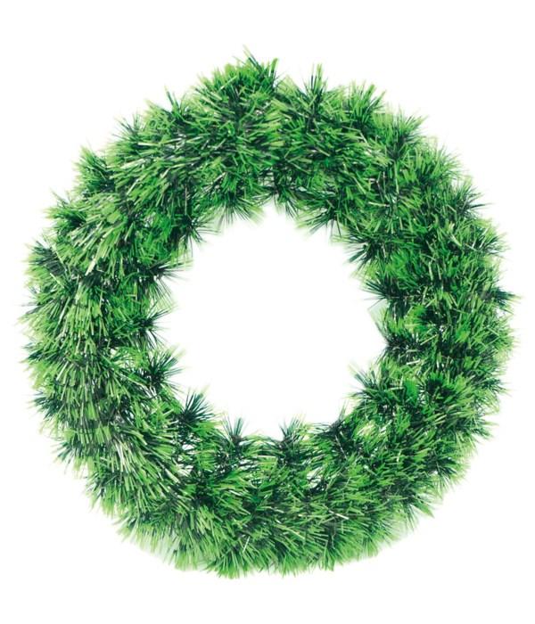 "12"" x'mas wreath 36s"