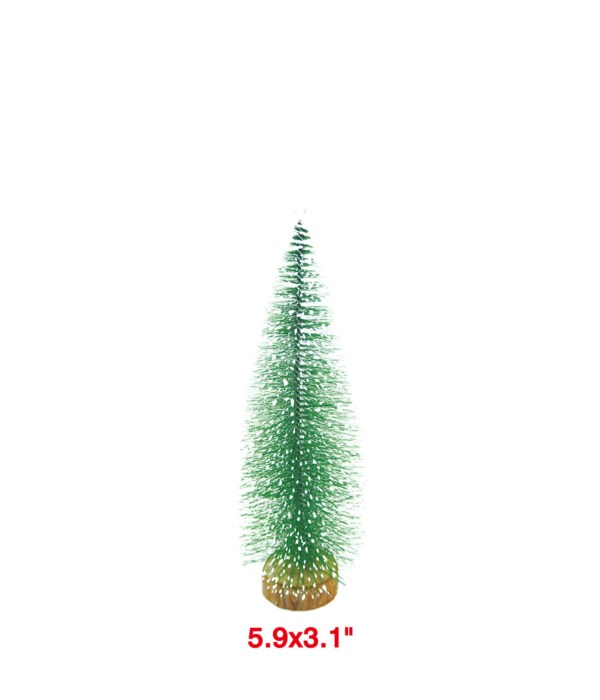 "x'mas tree deco. 12x5"" 24/96s"