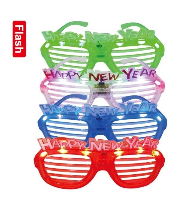 LED new year glasses 24/288s