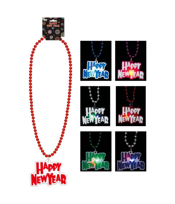 LED new year necklace 12/288s