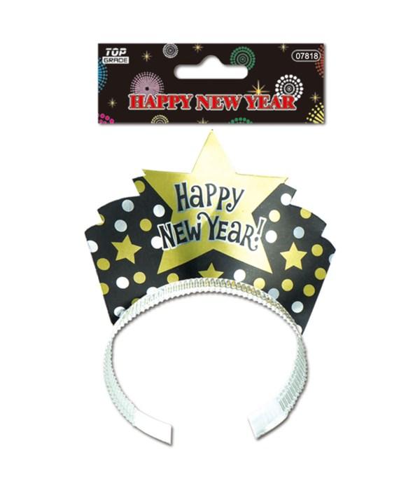 new year headband 48s