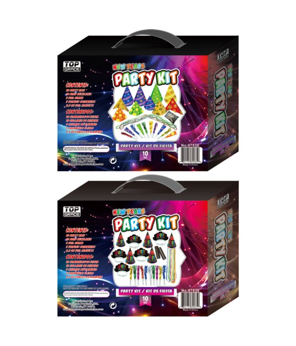 new year party set kit 24s
