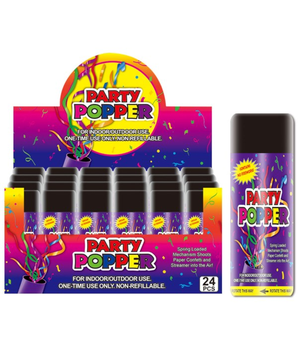 38g party popper 24/288s