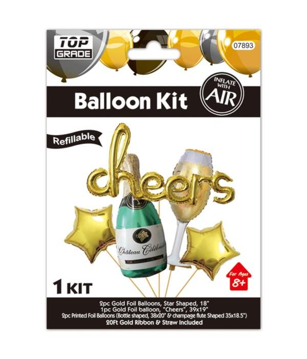 Cheers Balloon Set 12/120s