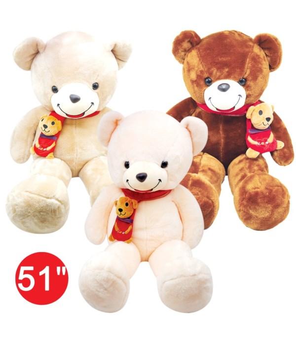 """51"""" teddy bear 4's"""