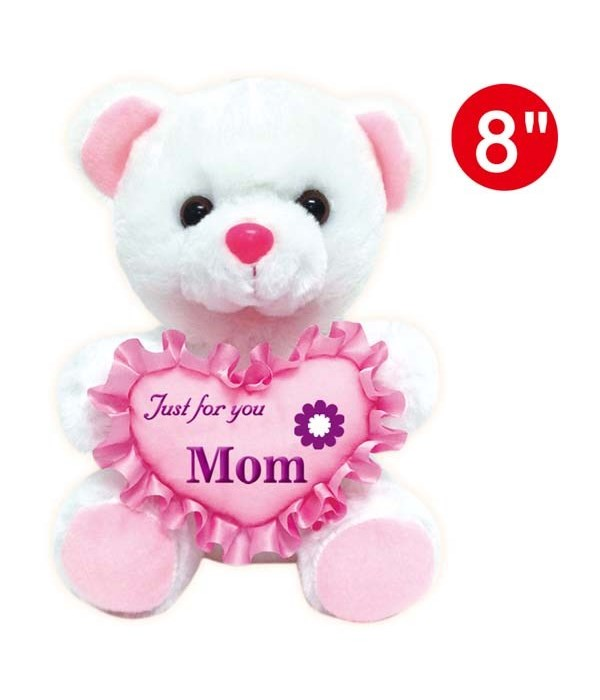 """8"""" bear """"just for you MOM"""" 24s"""