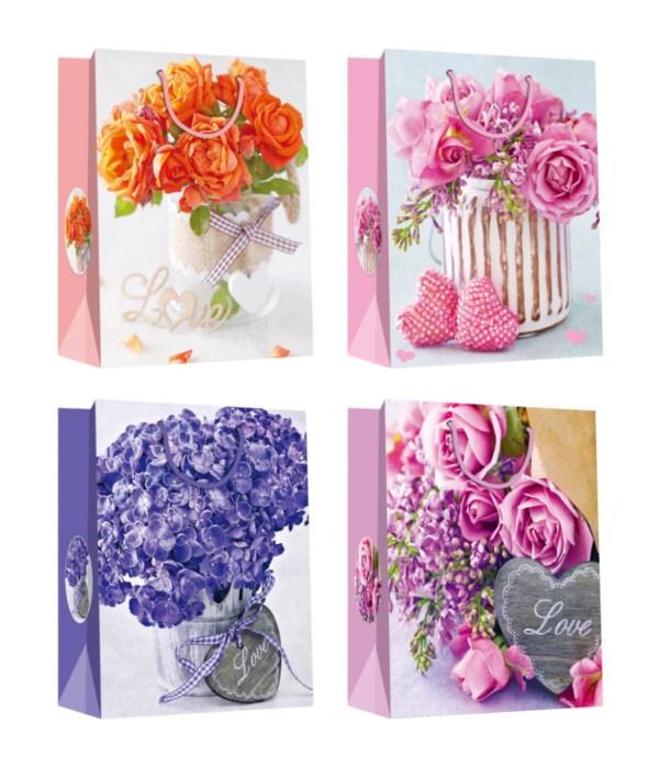 floral gift bag /L 72s