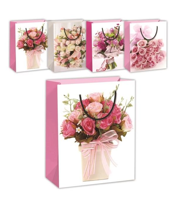 """floral bag GLT 7.5x9x4""""/M 72s"""