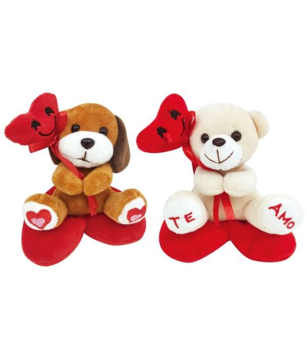 "5.2"" bear and dog 12/240s"